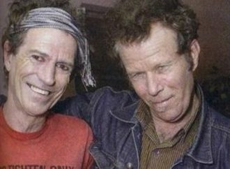 Tom Waits with Keith Richards