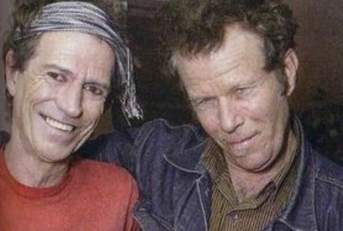 Tom Waits with Keith Richards