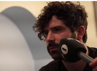Backstage With Foals' Yannis Philippakis
