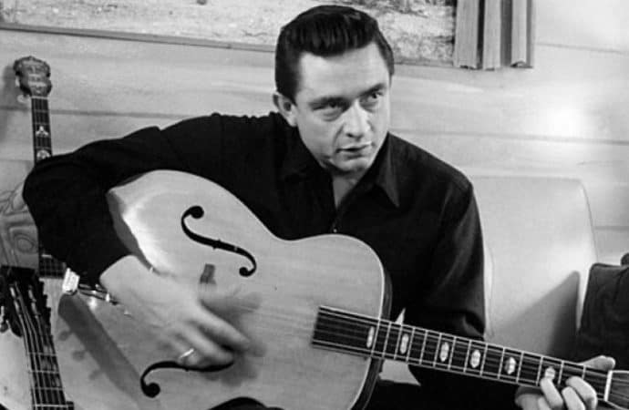 Johnny Cash's 'Out Among the Stars' Comes to Life in Lyric Video