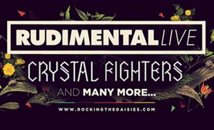 Rudimental and Crystal Fighters to Headline Rocking The Daisies 2014