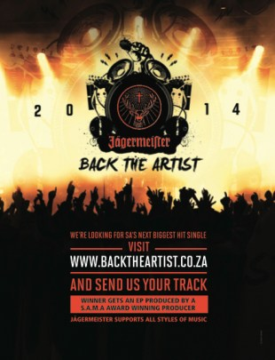 Jägermeister: Back The Artist 2014